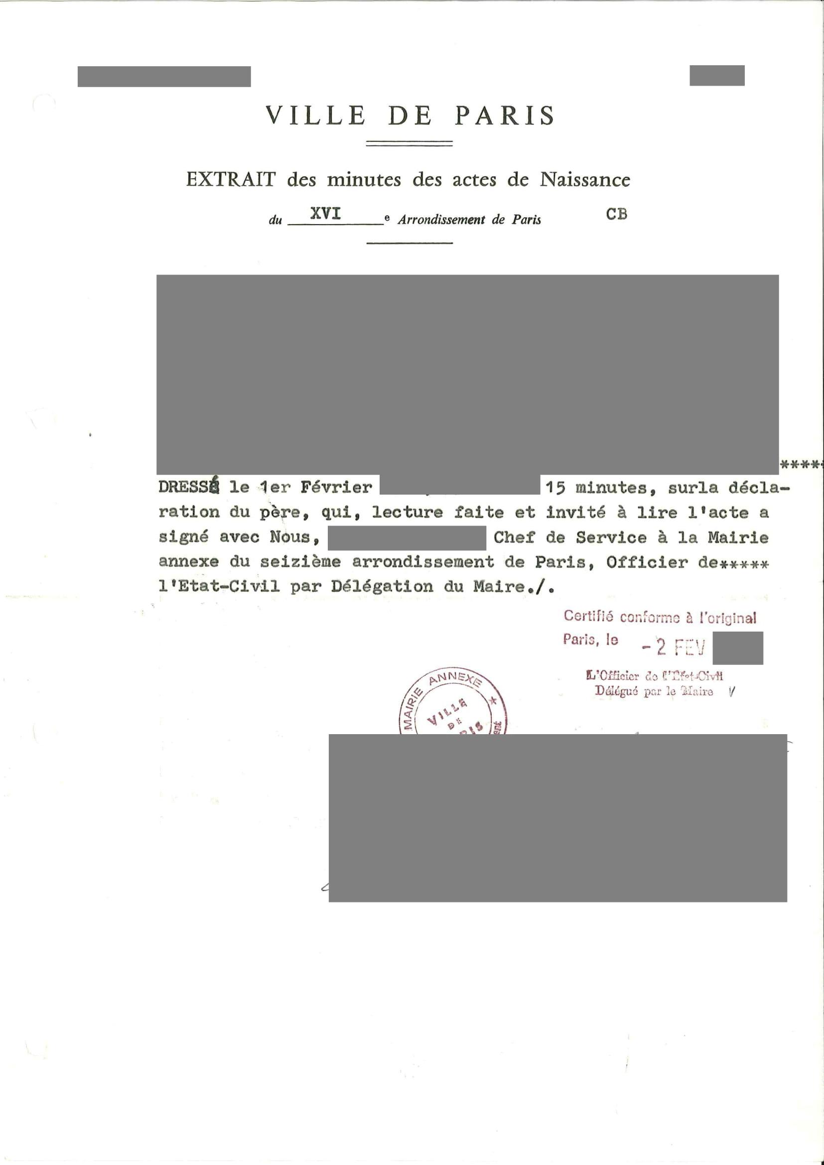 Traduction certifiée acte de naissance-1